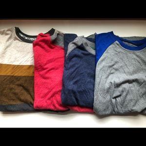 Lot of (4) Boys Large Tee Shirts